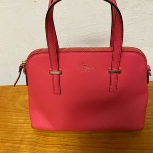 Kate Spade Cedar Street Dark Pink Purse no strap